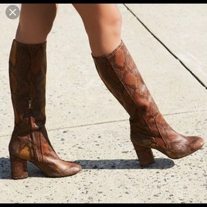 Free people snake boots